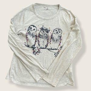 Owl Gap Long Sleeve